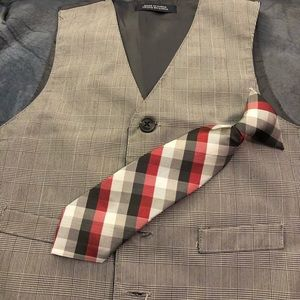 Boy Nautica Suit Holiday Outfit